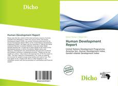 Buchcover von Human Development Report
