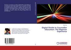 Copertina di Digital Divide in Counsellor Education: The Nigerian Experience