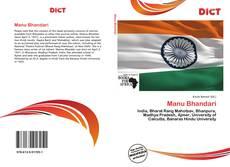 Bookcover of Manu Bhandari