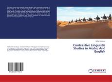 Contrastive Linguistic Studies in Arabic And English kitap kapağı