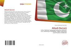 Bookcover of Attash Durrani
