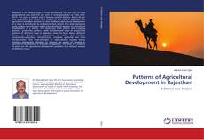 Couverture de Patterns of Agricultural Development in Rajasthan