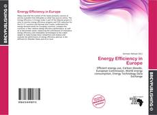 Buchcover von Energy Efficiency in Europe
