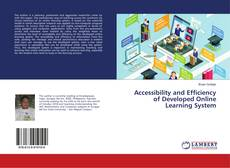 Accessibility and Efficiency of Developed Online Learning System的封面