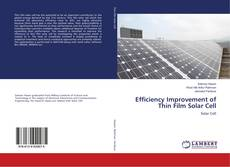 Bookcover of Efficiency Improvement of Thin Film Solar Cell