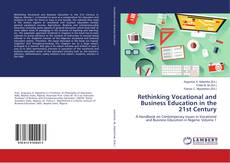 Buchcover von Rethinking Vocational and Business Education in the 21st Century