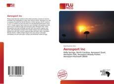 Bookcover of Aerosport Inc