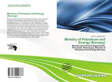 Bookcover of Ministry of Petroleum and Energy (Norway)