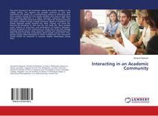 Capa do livro de Interacting in an Academic Community