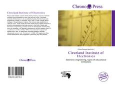 Capa do livro de Cleveland Institute of Electronics