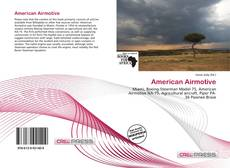 Bookcover of American Airmotive