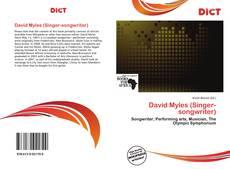 Bookcover of David Myles (Singer-songwriter)