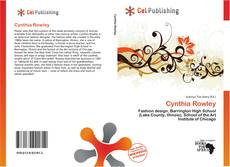 Bookcover of Cynthia Rowley