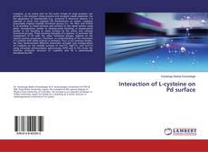 Interaction of L-cysteine on Pd surface的封面