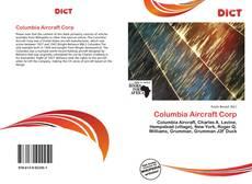 Portada del libro de Columbia Aircraft Corp