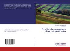 Обложка Eco-friendly management of tea red spider mites