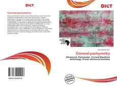 Copertina di Corneal pachymetry