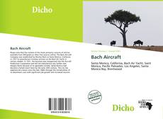 Bookcover of Bach Aircraft