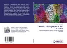 Capa do livro de Genetics of Fingerprints and Lip prints