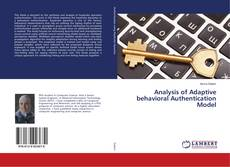 Bookcover of Analysis of Adaptive behavioral Authentication Model