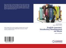 Bookcover of English Learners' Vocabulary Development via Music