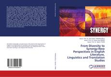 Bookcover of From Diversity to Synergy:New Perspectives in English Literature, Linguistics and Translation Studies