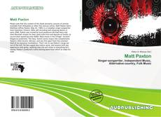 Bookcover of Matt Paxton