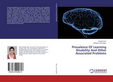 Bookcover of Prevalence Of Learning Disability And Other Associated Problems
