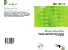 Bookcover of Mumtaz Hamid Rao