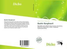 Capa do livro de Bashir Barghouti