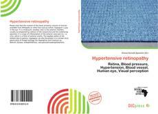 Hypertensive retinopathy kitap kapağı