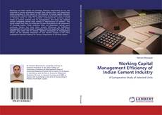 Bookcover of Working Capital Management Efficiency of Indian Cement Industry