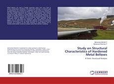 Capa do livro de Study on Structural Characteristics of Hardened Metal Bellows