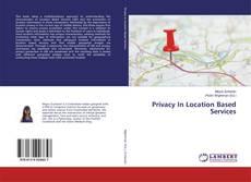 Privacy In Location Based Services kitap kapağı