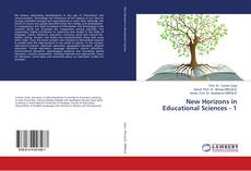 Capa do livro de New Horizons in Educational Sciences - 1