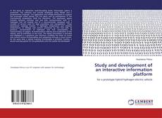 Capa do livro de Study and development of an interactive information platform