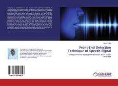 Bookcover of Front-End Detection Technique of Speech Signal