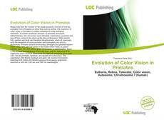 Обложка Evolution of Color Vision in Primates