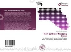 Portada del libro de First Battle of Naktong Bulge