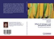 Borítókép a  Effect of nitrogen and phosphorus levels - hoz