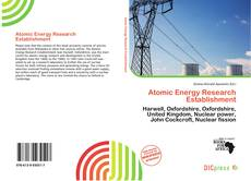 Couverture de Atomic Energy Research Establishment