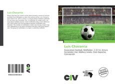 Portada del libro de Luis Chavarría