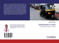 Bookcover of Urbanization in India
