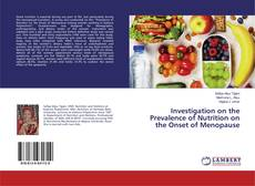 Buchcover von Investigation on the Prevalence of Nutrition on the Onset of Menopause
