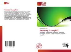 Ksawery Pruszyński kitap kapağı