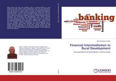 Buchcover von Financial Intermediation in Rural Development