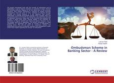 Buchcover von Ombudsman Scheme in Banking Sector - A Review