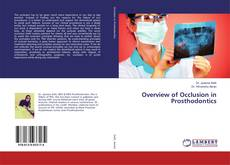 Bookcover of Overview of Occlusion in Prosthodontics