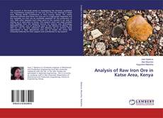 Bookcover of Analysis of Raw Iron Ore in Katse Area, Kenya