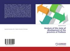 Analysis of the state of development of the province of Podlasie的封面